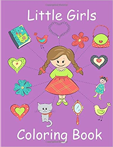 little girls coloring book coloring book for toddler girls toddler