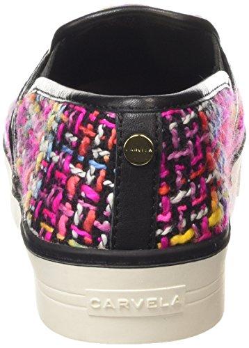 Carvela Limpid Damen Knöchelfreie Sneaker Pink (Pink/Comb)