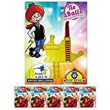 Toy King 500 Pcs Water Ballons & 8 Sec water balloon Filler and Tier For Holi