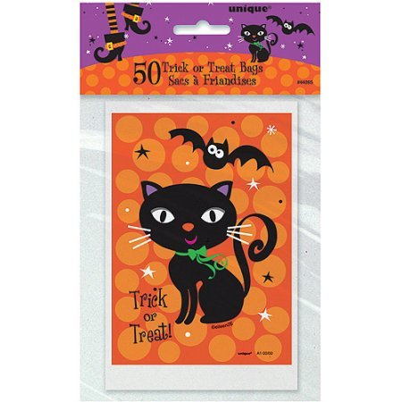 Spooky Boots (Spooky Boots Halloween Favor Bags, 50ct)