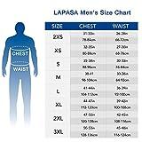 LAPASA Men's Heat Generation Thermal Underwear Long