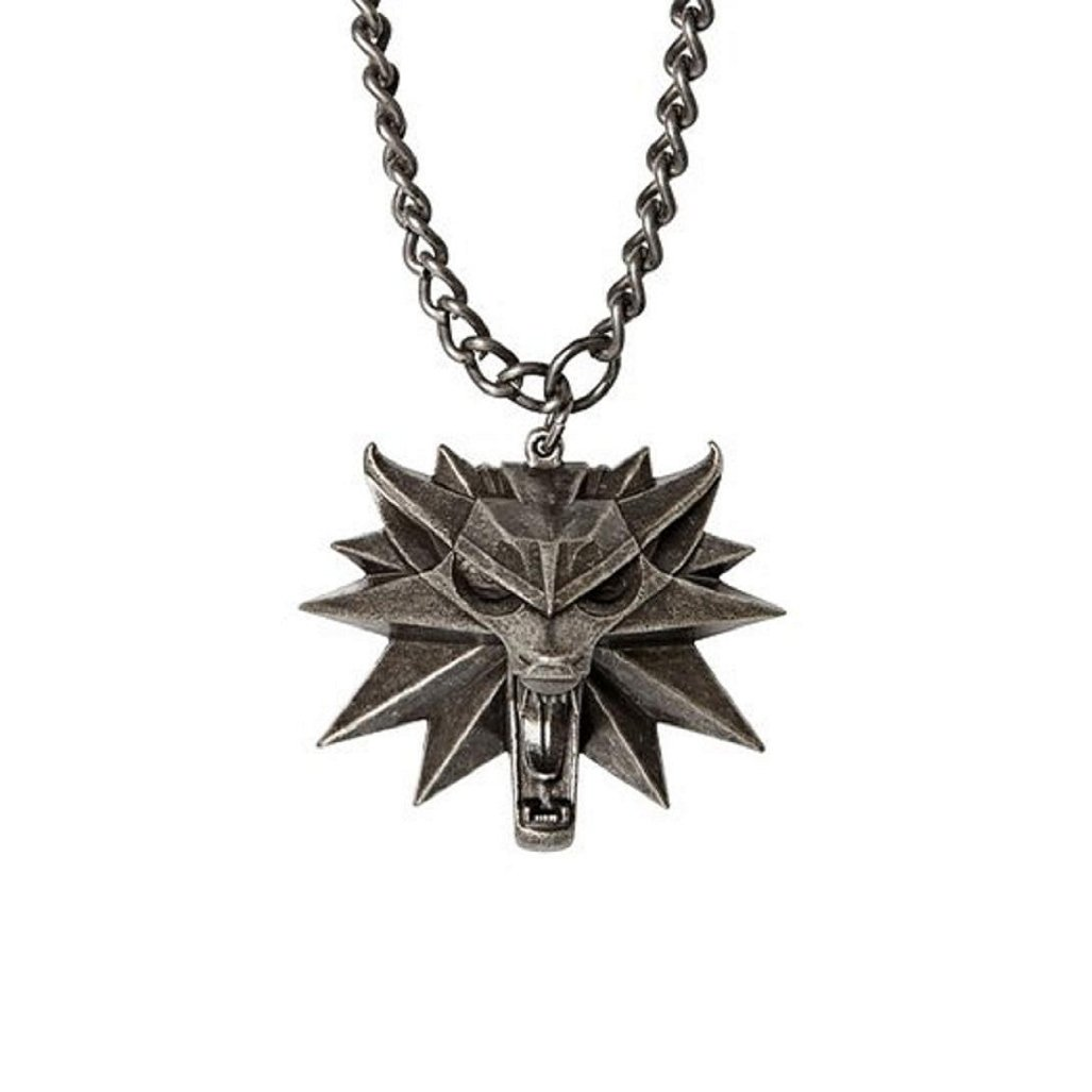 Witcher Wolf Medallion - Blue Glowing Eyes - Limited Edition.: Amazon.es: Juguetes y juegos
