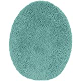 Maples Rugs AG2273U10 Cloud Bath Collection Toilet Seat Cover, Teal Topaz