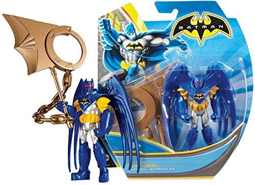 """Batman w/ Action Wing ~4"""" Mini-Action Figure: Batman Unlimited Basic Figure + Accessories Series"""