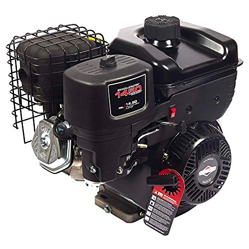 Briggs & Stratton 1450 Series Horizontal OHV Engine - 306cc, 3/4in. x 2.51in. Shaft, Model# 19N132-0051-F1 ()