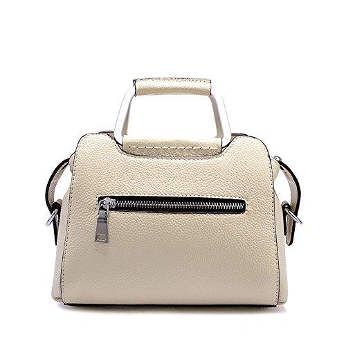 Bag Shoulder Bag Capacity Fashion Lady Casual White Large Handbag Retro Shoulder Zxaq7TU