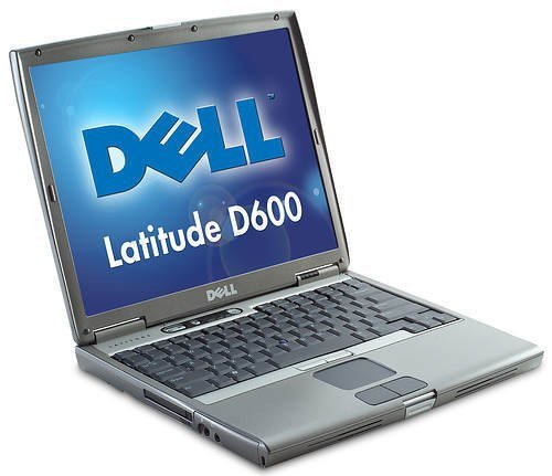 Dell D600 Laptop (1.6ghz, 40 GB Hard Drive, DVD/CD-RW) (D600 Notebook Dell Latitude Laptop)