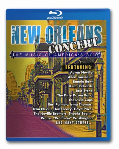 New Orleans Concert - The Music of America's Soul [Blu-ray] (New Orleans Outlet)