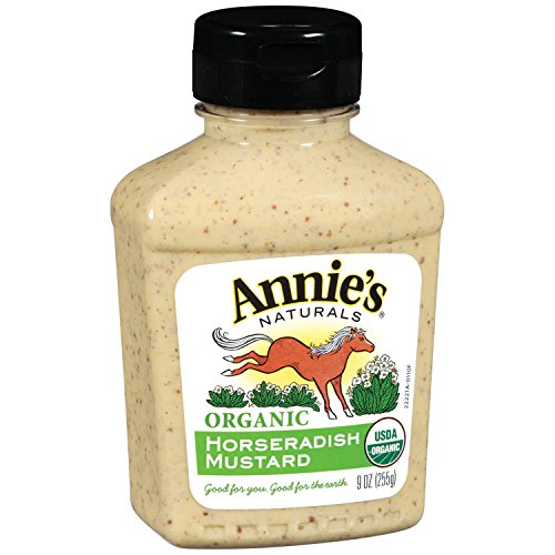 Annie's Organic Horseradish Mustard  9 oz Bottle