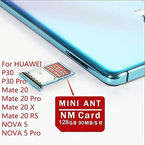 Carte Mémoire Nano De 128 Go Pour Huawei P30 Et P30 Pro Mate 20 X Pro Rs Amazon Fr Photo Caméscopes