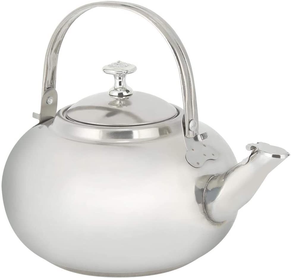 Tea Kettles Whistling Coffee Teapots for Stovetop, Stainless Steel Water Kettles Tea Pots with Filter for Home Office Restaurant Use (M)
