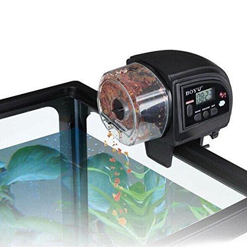 Flying Colourz BOYU ZW-82 LED Fish Food Feeder Automatic Aquarium Timer For Fish Tank