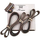 1x30 High Grit Honing Belt 15 Pack 600, 800,1000 Grit SC & Knife Sharpening Angle Guide