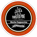 Twisted Pine Coffee Mocha Cappuccino Cappuccino, Single-Serve Cups for Keurig K-Cup Brewers, 24 Count made by Twisted Pine