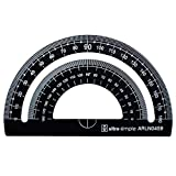 4 pc Metal Triangular Scale Ruler Set