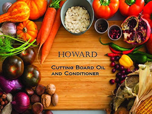 Howard Butcher Block Conditioner and Cutting Board Oil 12 oz, Food Grade Conditioner and Oil, Great for Heave Use Cutting Boards and Utensils, Re hydrate your Cutting Blocks by Howard (Image #3)