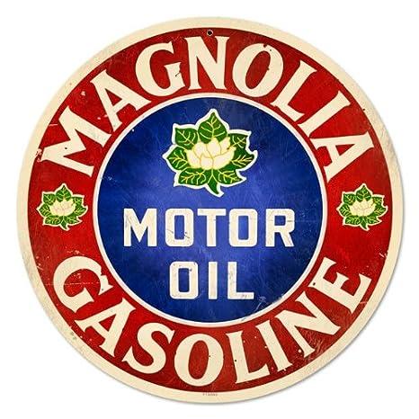 Amazon.com: Magnolia aceite de motor GASOLINERA clásico ...