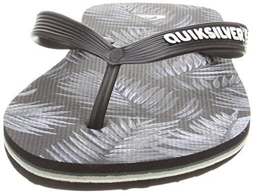Quiksilver Mens Molokai Art Sandal Black/Grey/White 1yYq0