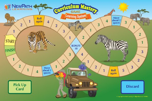 NewPath Learning Mastering Language Arts Curriculum Mastery Game, Grade 4, Class Pack