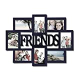"""Best Adeco Friends Picture Collages - Adeco Decorative Black Wood """"Friends"""" Wall Hanging Collage Review"""