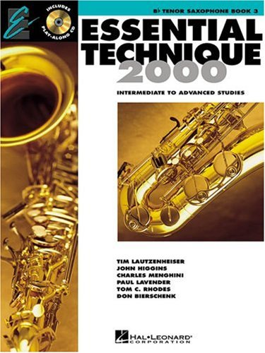 Essential Technique 2000: Bb Tenor Saxophone Book 3