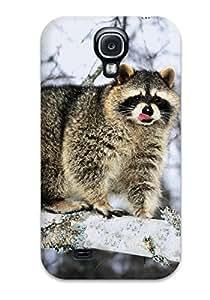 Leana Buky Zittlau's Shop Hot Design Premium Tpu Case Cover Galaxy S4 Protection Case(raccoon)