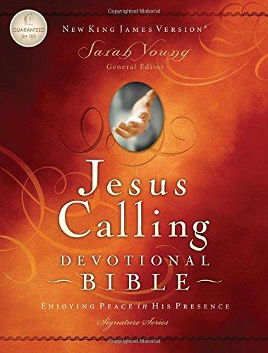 Jesus Calling Devotional Bible: New King James Version (Signature)