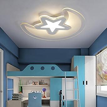 Acrílico LED Lámpara de techo en el dormitorio de los niños ...