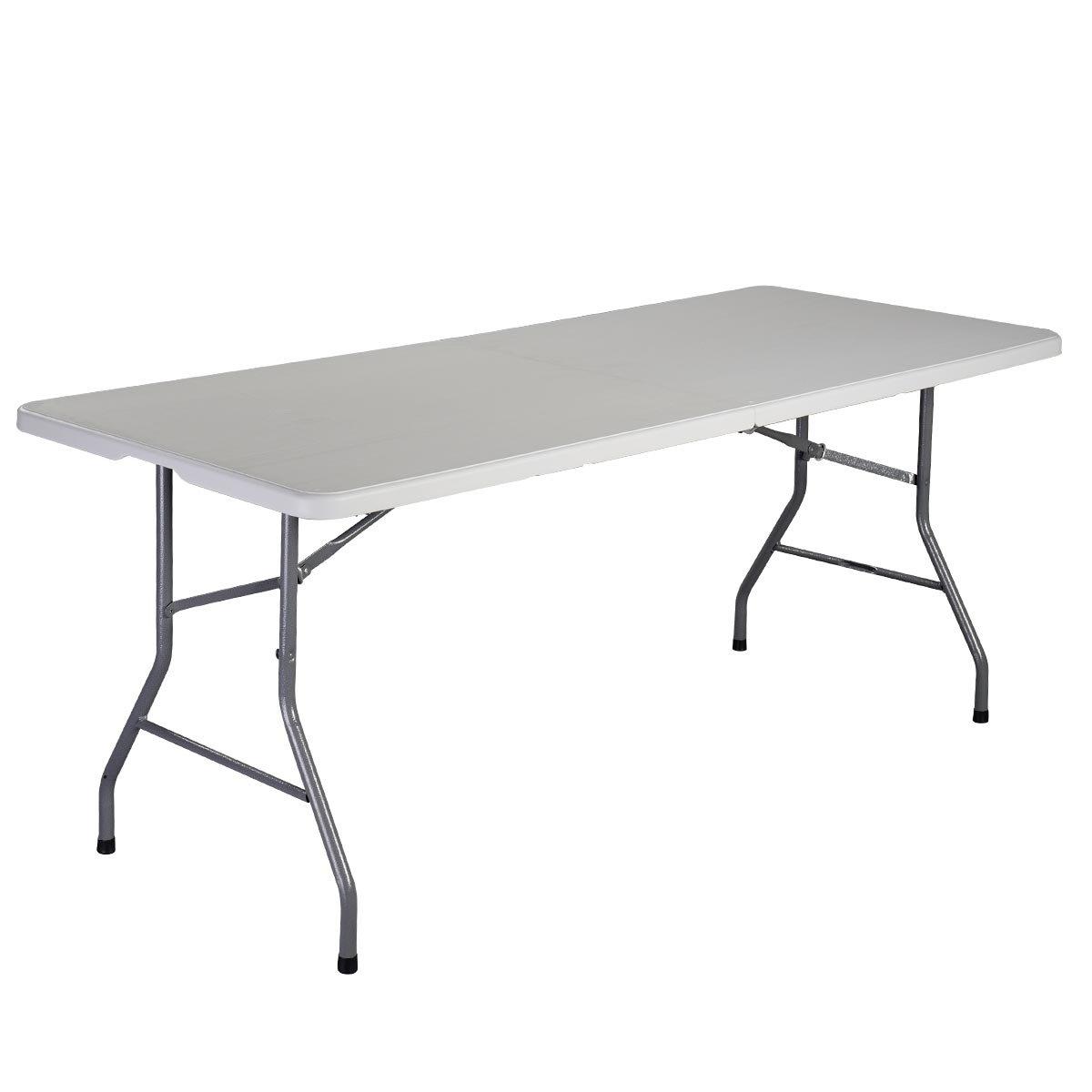Amazon Giantex 6 Folding Table Portable Plastic Indoor