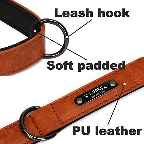 51d6%2BHbXcfL. SS500  - Custom Engraved Malinios Leather Collar