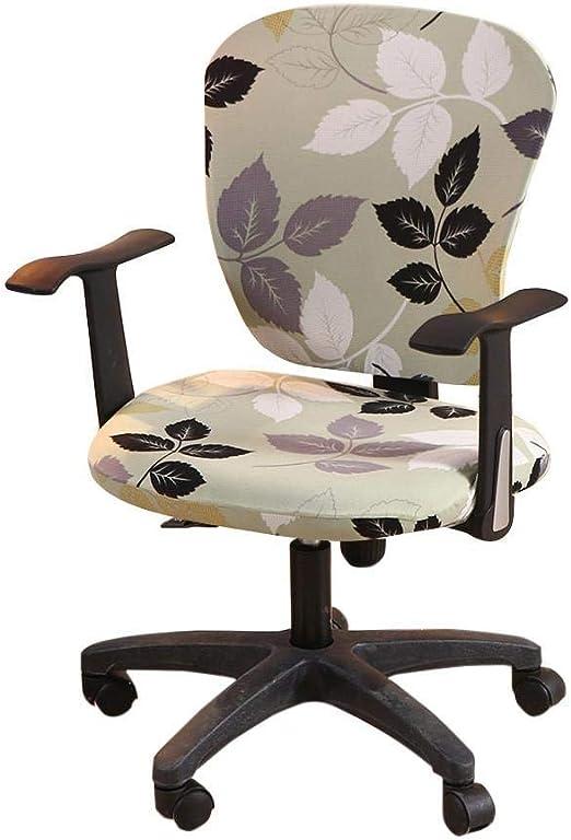 myonly - Funda para silla de oficina (elástica, giratoria ...