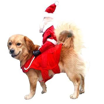 dianzishangcheng Disfraz de Perro para Mascotas, Traje de ...