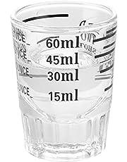 ehind Jarra medidora Measuring Cups de Taza de café de Once de Vidrio épaissie Taza de