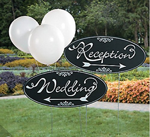 Fun Express Wedding Yard Sign Kit