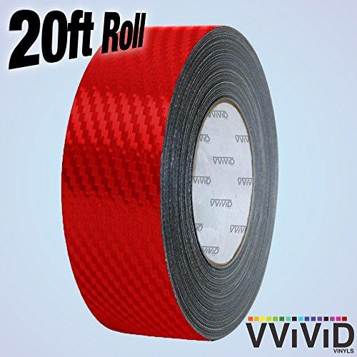 - VViViD Dry Carbon Fibre Detailing Vinyl Wrap Tape 2