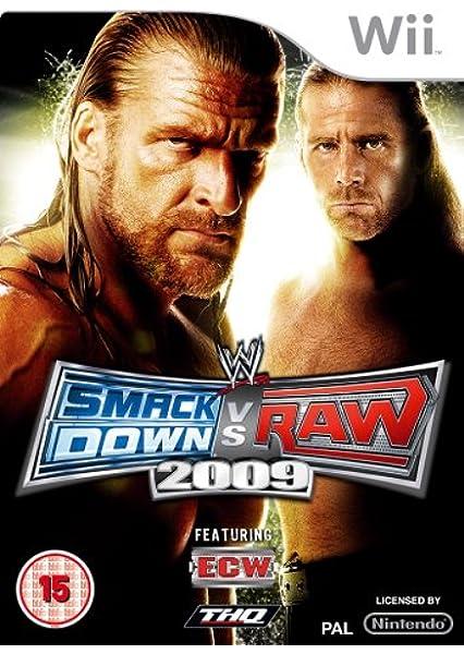 WWE Smackdown vs. Raw 2009 (Wii) [Importación inglesa]: Amazon.es: Videojuegos