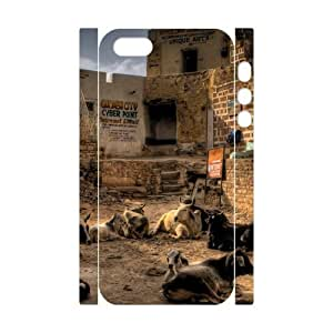 3D Cute For SamSung Galaxy S5 Mini Phone Case Cover Golden City Cyber Point for Women Protective, For SamSung Galaxy S5 Mini Phone Case Cover Women Protective [White]