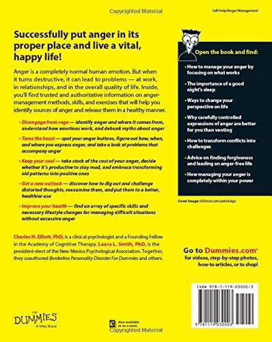 Anger Management For Dummies: Charles H. Elliott, Laura L. Smith ...
