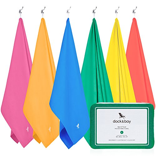 Microfiber Towel - Active & Yoga (Green - Large 63x31