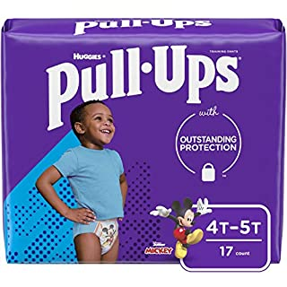 Pull-Ups Learning Designs Boys' Training Pants, 4T-5T, 17 Ct
