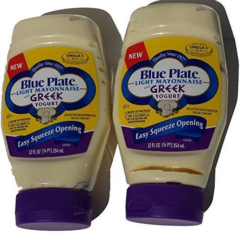- Blue Plate Light Mayonnaise with Greek Yogurt 2-Pack