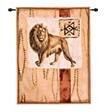 Imressions of Africa III Modern Tapestry
