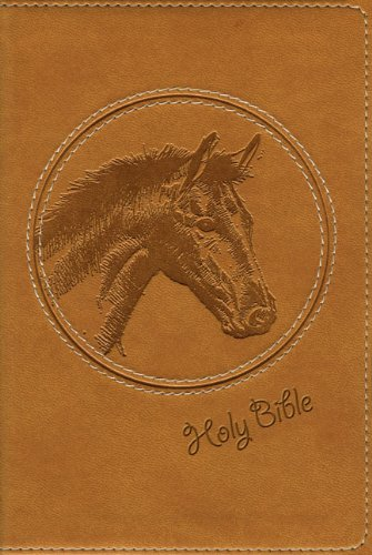 NIV Wild About Horses Bible, Toffee Brown