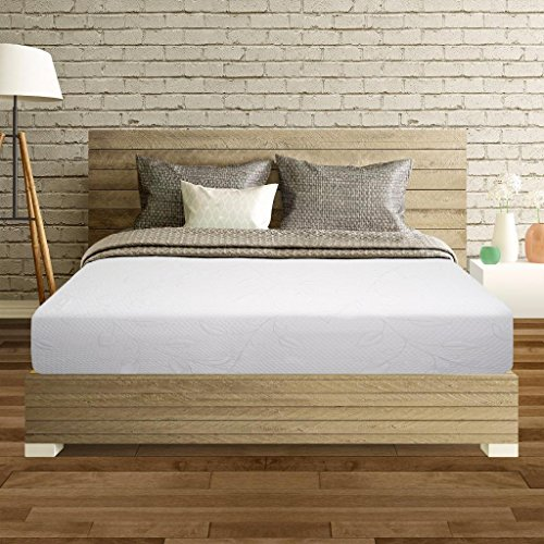 Best Price Mattress 10' Air Flow Memory Foam Mattress, Queen