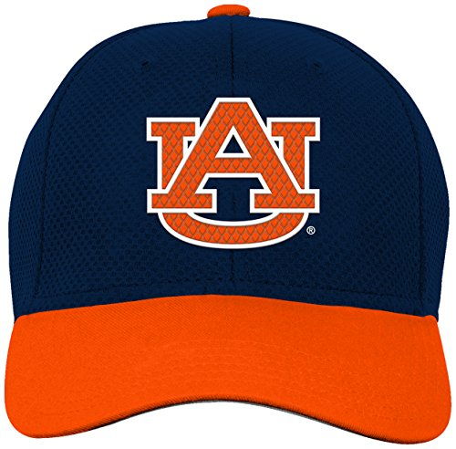 Auburn Accessories Tigers Kids - NCAA by Outerstuff NCAA Auburn Tigers Youth Boys Tech Structured Snap Hat, Dark Navy, Youth One Size