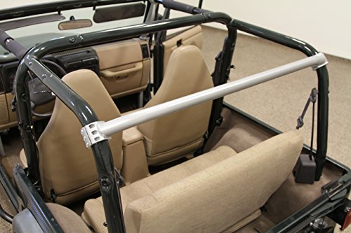 - Rock Hard 4x4 Straight Across the Rear Bar for Jeep Wrangler TJ and Unlimited LJ 1997 - 2006