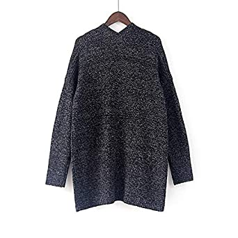 Yemenger Womens Cardigan Sweater Open Front Knitwear Coat Ladies Duster Cable Knit Cardigan Sweater for Women