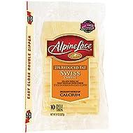 Land O Lakes Alpine Lace Swiss Deli Cheese Slice, 8 Ounce - 12 per case.