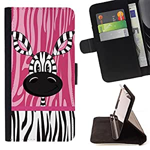 Jordan Colourful Shop - FOR Sony Xperia M2 - when you grow up - Leather Case Absorciš®n cubierta de la caja de alto impacto