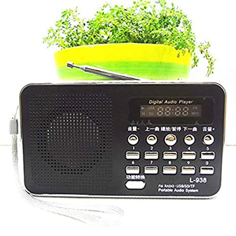 Altavoz de Radio Multifuncional Reproductor de Altavoz ...